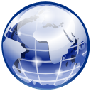 earth, world, network LightSteelBlue icon