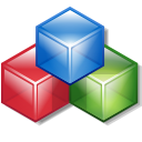 Blocks, Modules CornflowerBlue icon