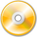 unmount, Cdwriter Orange icon