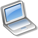 Laptop DarkGray icon