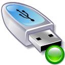 mount, usbpendrive DarkGray icon