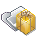 Tar, Folder Goldenrod icon