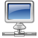 network, Local, Hosting SteelBlue icon