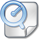File, Apple, quicktime WhiteSmoke icon