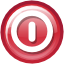 Exit, logout IndianRed icon