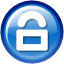 Lock SteelBlue icon