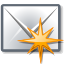 new, mail DimGray icon