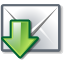 Get, mail DimGray icon