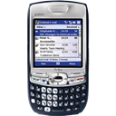 Palm treo 750v, smart phone Black icon