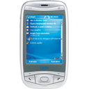phone, Cell, Mobile, qtek 9100 128 DimGray icon