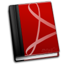 Acroread DarkRed icon