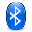 Logo, Bluetooth DodgerBlue icon