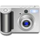 photography, Camera Silver icon