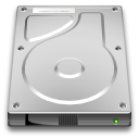 drive, Disk LightGray icon
