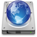 drive, Remote SteelBlue icon