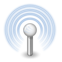 antenna, Wifi, wireless, gprs, Aerial CornflowerBlue icon