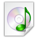 File, sound, music WhiteSmoke icon