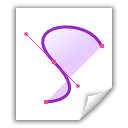 File, vector Lavender icon