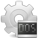 Dos, Ms, Application, executable LightGray icon