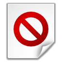 File, Broken, no access WhiteSmoke icon