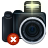 Camera, delete DarkSlateGray icon