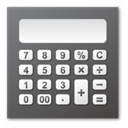 calculator DimGray icon