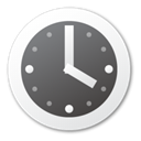 time, timer, Clock DimGray icon
