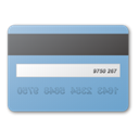 card, credit, Blue SkyBlue icon