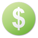 Cash, Dollar, funding, investment, Currency, Money DarkKhaki icon