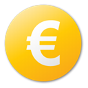 yellow, Euro, Currency Gold icon