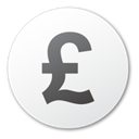 pound, Currency WhiteSmoke icon