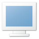 Blue, monitor, screen SkyBlue icon