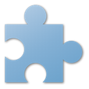 Puzzle SkyBlue icon