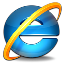 Browser, microsoft, 16 colors, internet explorer Icon