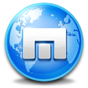Browser, maxthon Black icon