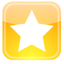 Badge, star, Favorite, bookmark Khaki icon