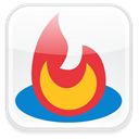 Feedburner, Badge WhiteSmoke icon