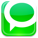 Badge, Technorati Lime icon