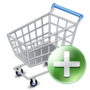 shopping cart, ecommerce, webshop, Add Gray icon