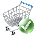 webshop, exclude, ecommerce, shopping cart, Added Gray icon