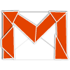 med, gmail OrangeRed icon