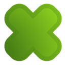 cross OliveDrab icon