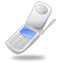 Mobile, telefono, phone, Cell Black icon