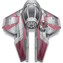 Anakin, star wars, starfighter DimGray icon