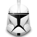 helmet, Clone, star wars Gainsboro icon