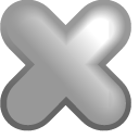 Fileclose DarkGray icon