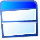 view, Top, Bottom LightCyan icon