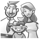 Family Gray icon