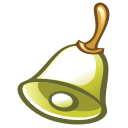 bell DarkOliveGreen icon