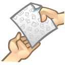 gift, share, Fileshare Gray icon